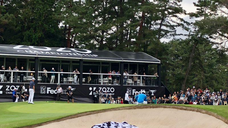 GEN-TENゴルフコースレッスンZOZOチャンピオンシップマキロイパッティングの写真