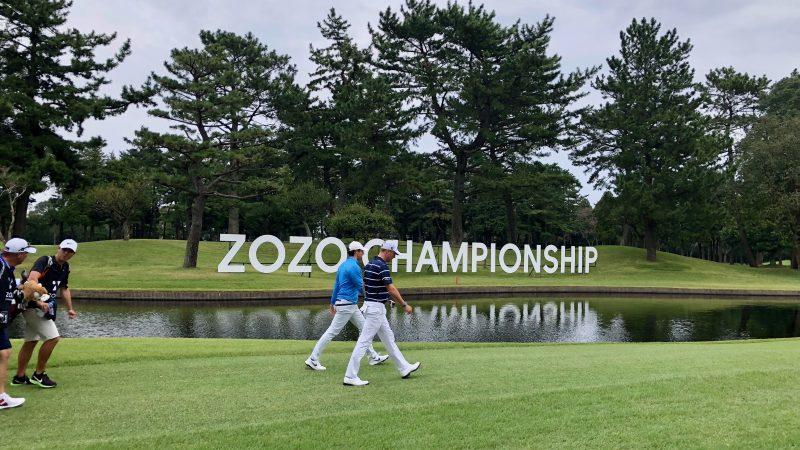 GEN-TENゴルフコースレッスンZOZOチャンピオンシップマキロイ&シャウフェレの写真