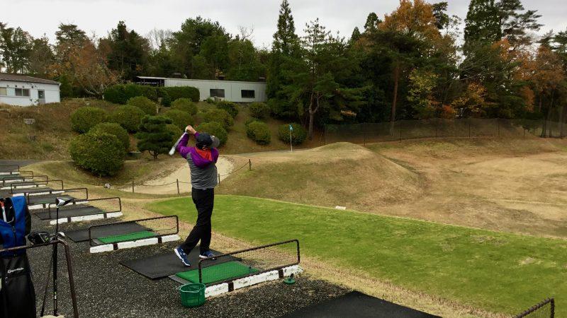 GEN-TENゴルフコースレッスン千刈CCロングゲームレッスン正面からの写真