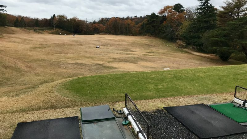 GEN-TENゴルフコースレッスン千刈CCドライビングレンジの写真