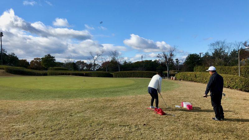 GEN-TENゴルフコースレッスン六甲CC午後アプローチレッスンの写真