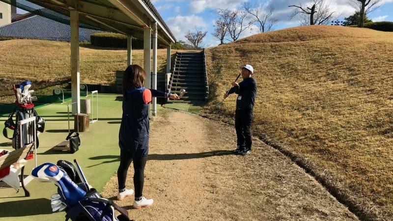 GEN-TENゴルフコースレッスン六甲CCストレッチの写真