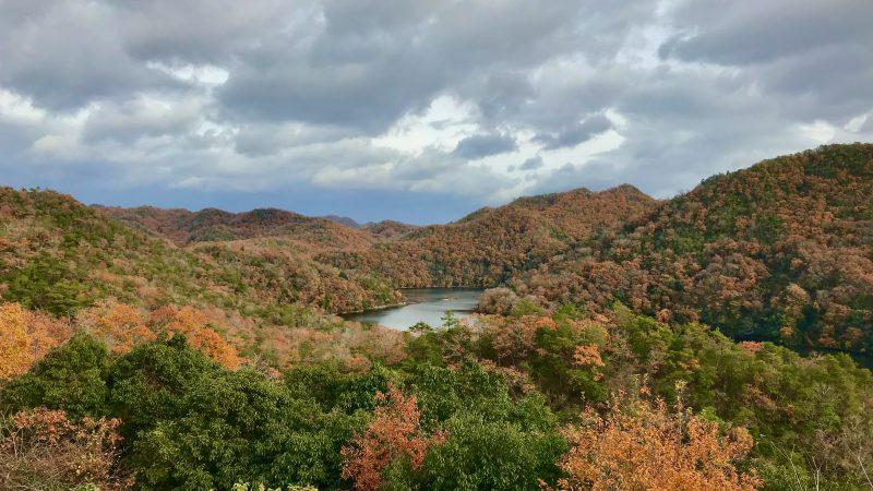 GEN-TENゴルフコースレッスン千刈CC紅葉の写真