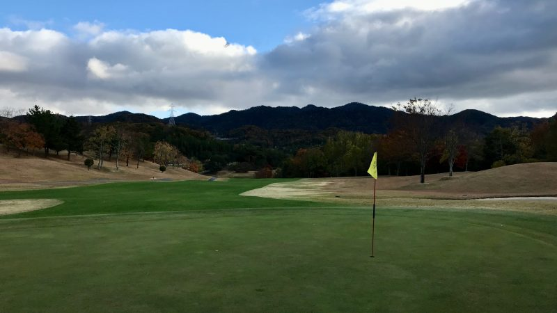 GEN-TENゴルフコースレッスン六甲CC11番ホールの写真