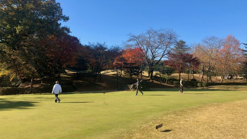 GEN-TENゴルフコースレッスン飯能パークCCパッティンググリーンの写真