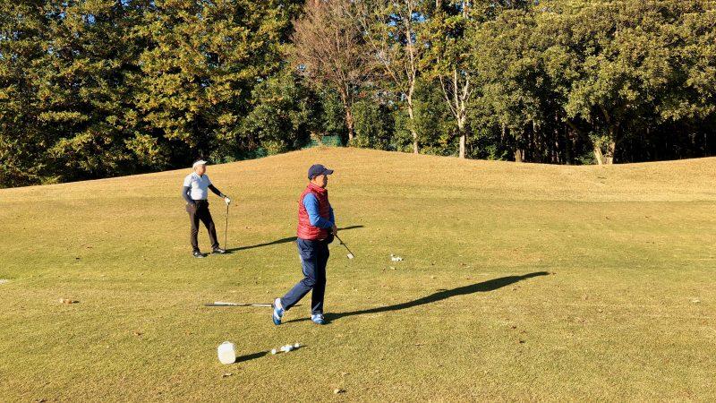 GEN-TENゴルフコースレッスン飯能パークCC定点練習の写真