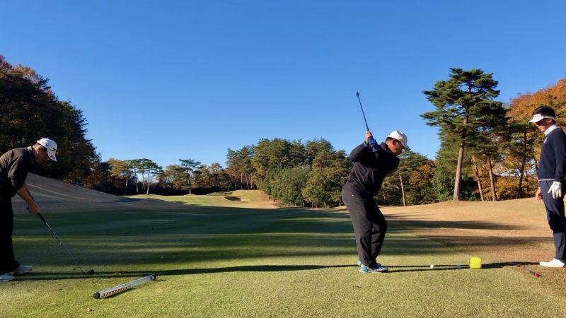 GEN-TENゴルフコースレッスン前傾姿勢コースレッスンの写真