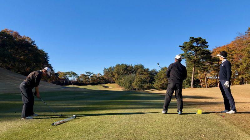 GEN-TENゴルフコースレッスン前傾姿勢コースレッスンの写真②