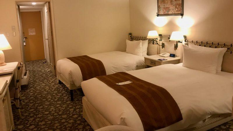 GEN-TENゴルフコースレッスン宮崎強化合宿ホテル客室の写真