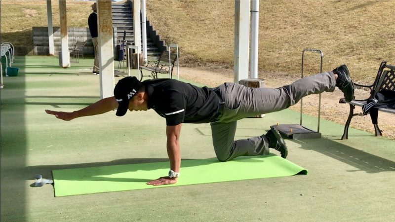 GEN-TENゴルフコースレッスントレーニングバードドックの写真