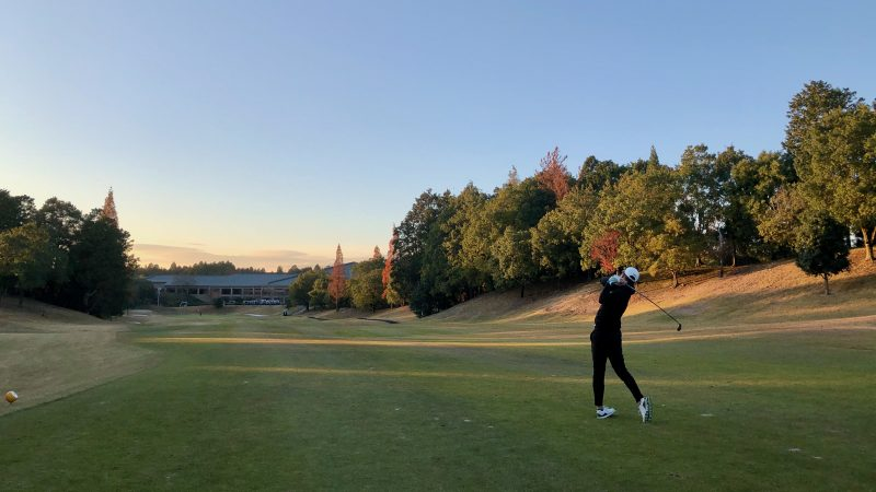 GEN-TENゴルフコースレッスン小萱チェリークリークCCセカンドショットの写真