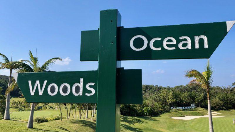 GEN-TENゴルフコースレッスン沖縄キャンプコース案内の写真