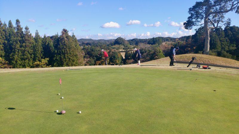 GEN-TENゴルフコースレッスンショートゲームグリーン周りアプローチの写真