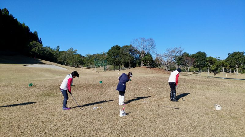 GEN-TENゴルフコースレッスンショートゲーム10yアプローチの写真