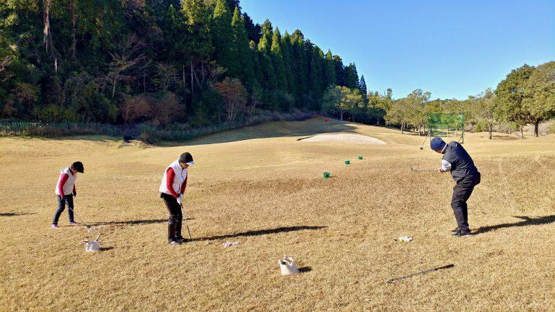 GEN-TENゴルフコースレッスンショートゲーム10y~30yアプローチの写真