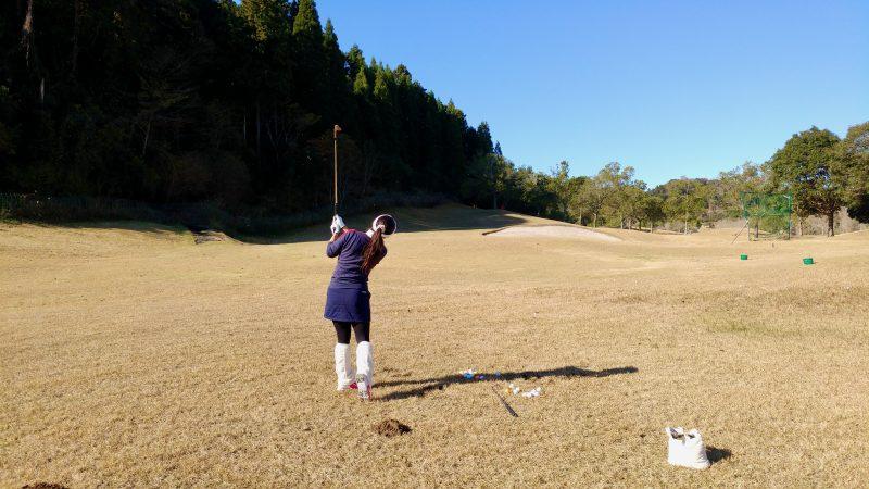 GEN-TENゴルフコースレッスンショートゲーム50yアプローチの写真