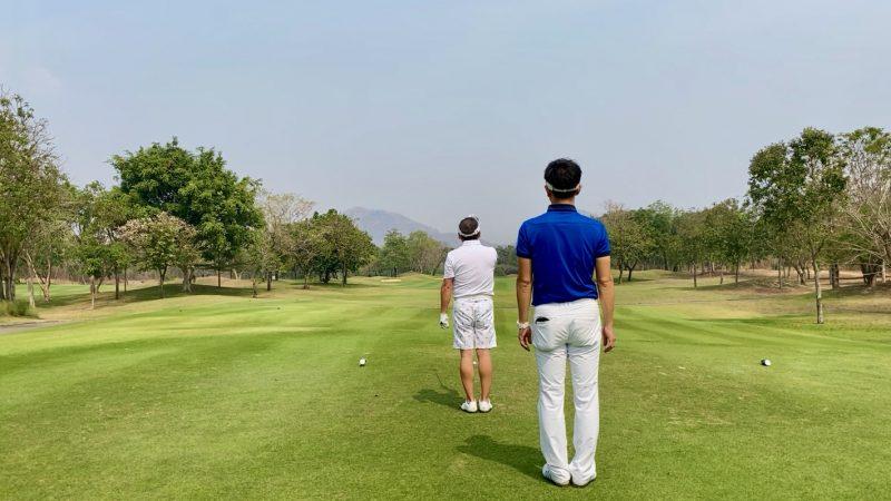GEN-TENゴルフコースレッスンスプリングフィールドロイヤルCCティイングエリアの写真