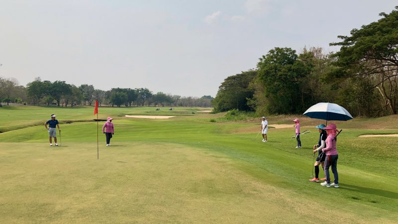 GEN-TENゴルフコースレッスンスプリングフィールドロイヤルCCグリーンの写真