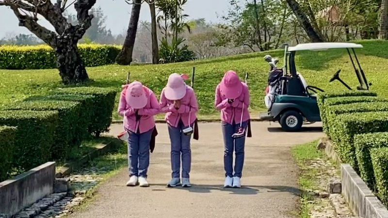 GEN-TENゴルフコースレッスンスプリングフィールドロイヤルCCキャディの写真