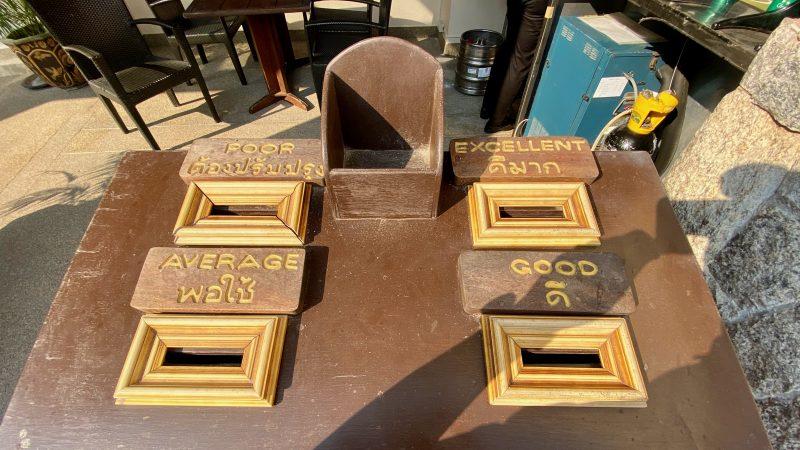 GEN-TENゴルフコースレッスンスプリングフィールドロイヤルCCコレクションボックス上からの写真