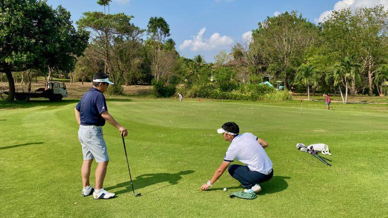 GEN-TENゴルフコースレッスンスプリングフィールドロイヤルCCアプローチレッスンの写真