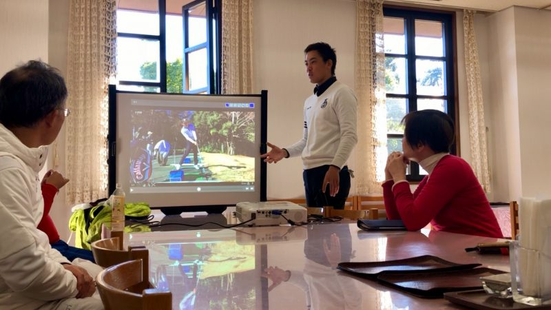 GEN-TENゴルフコースレッスンヒント講義の写真