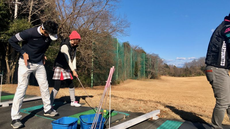 GEN-TENゴルフコースレッスンビギナーレッスンロングゲームの写真