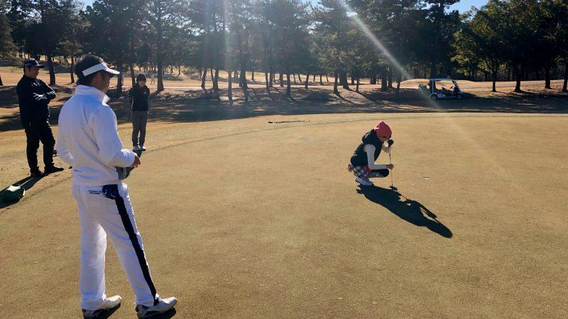 GEN-TENゴルフコースレッスンビギナーレッスンパッティングの写真