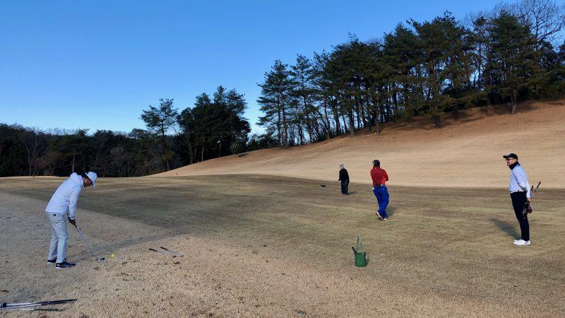 GEN-TENゴルフコースレッスンヒントラウンドチーム戦セカンドショットの写真