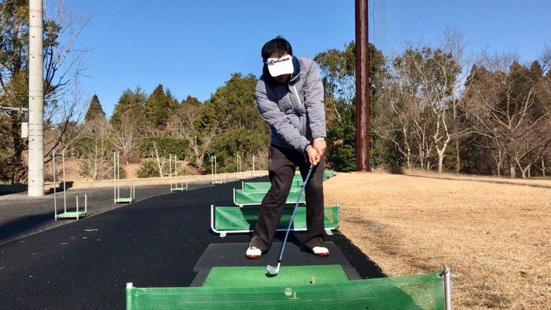 GEN-TENゴルフコースレッスンスライス矯正正しいインパクトの写真