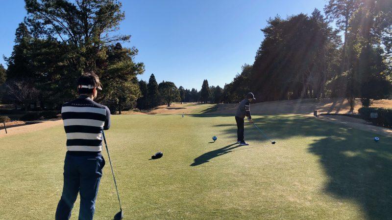 GEN-TENゴルフコースレッスン東千葉CCプレイングティイングエリアアドレスの写真