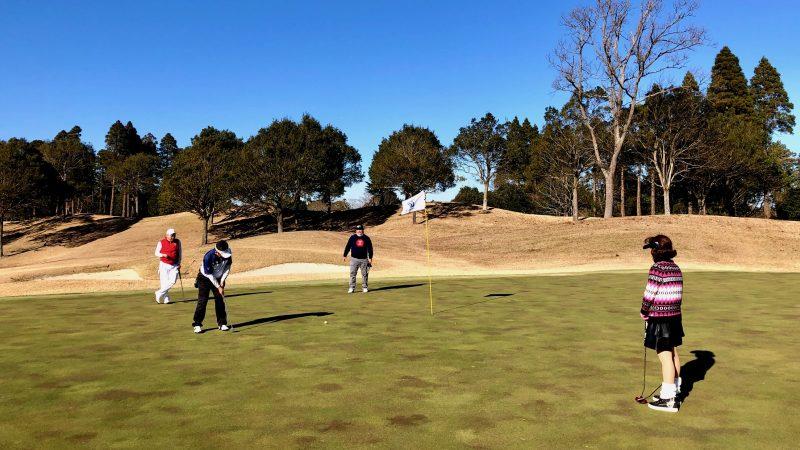 GEN-TENゴルフコースレッスン東千葉CCプレイングミドルパットの写真