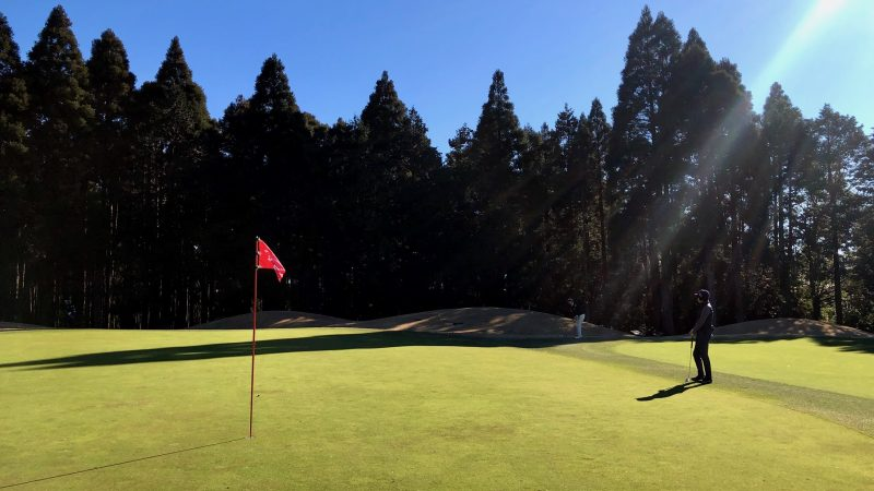 GEN-TENゴルフコースレッスン東千葉CCプレイングアプローチの写真