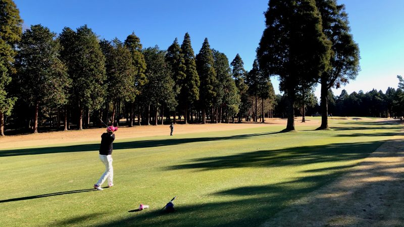 GEN-TENゴルフコースレッスン東千葉CCプレイングサードショットの写真