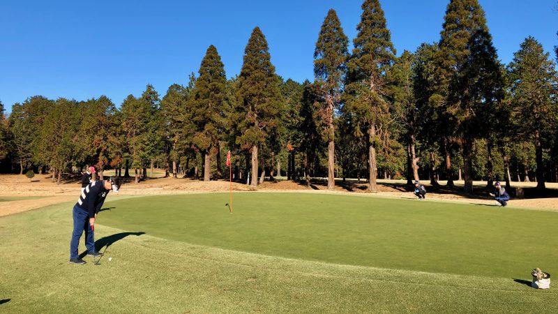 GEN-TENゴルフコースレッスン東千葉CCプレイングアプローチパットの写真