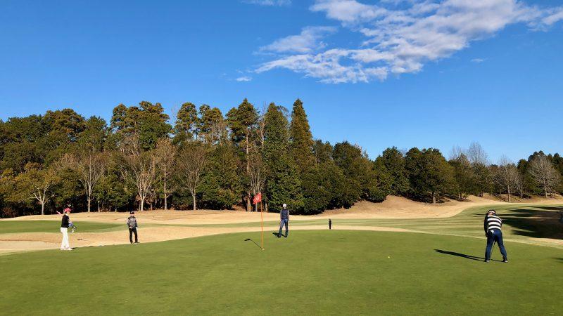 GEN-TENゴルフコースレッスン東千葉CCプレインググリーンの写真