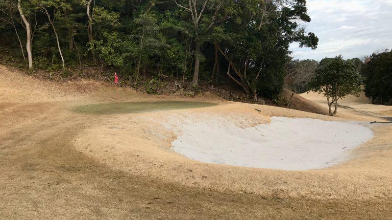 GEN-TENゴルフコースレッスンDC近鉄浜島CCバンカー練習場の写真