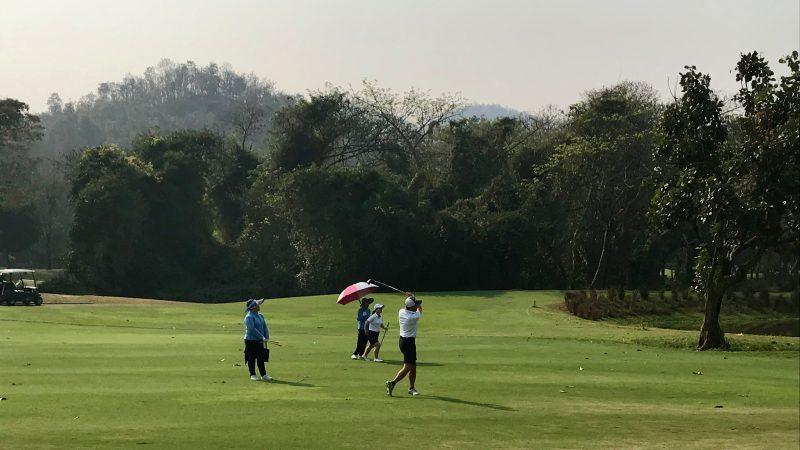 GEN-TENゴルフコースレッスンアルパインGRラウンド3日目の写真