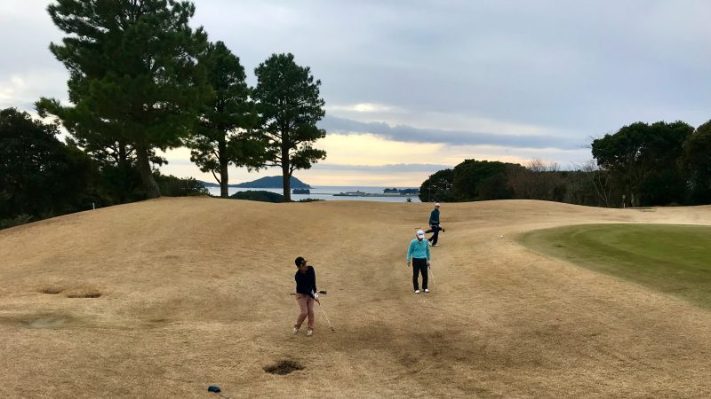 GEN-TENゴルフコースレッスンDC近鉄浜島CCアプローチの写真