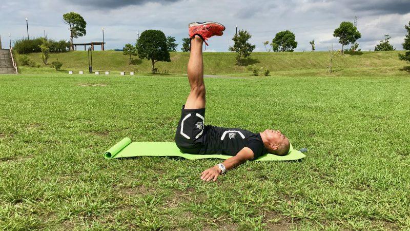 GEN-TENコースレッスン飛距離アップトレーニング腹筋側面垂直