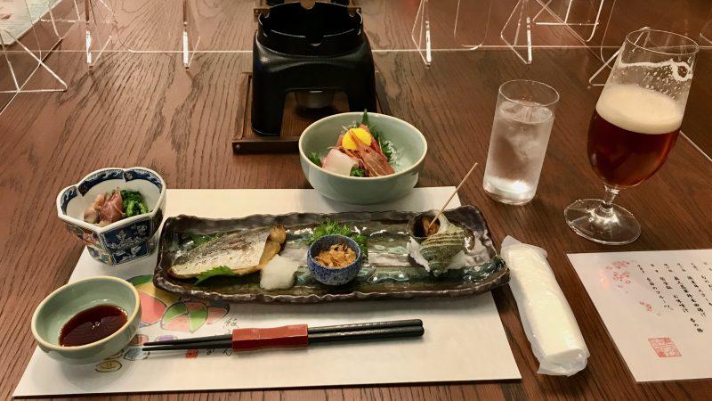 GEN-TENコースレッスンDC静ヒルズCC夕食前菜