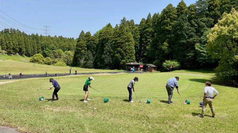 GEN-TENコースレッスン東千葉CCアプローチ練習
