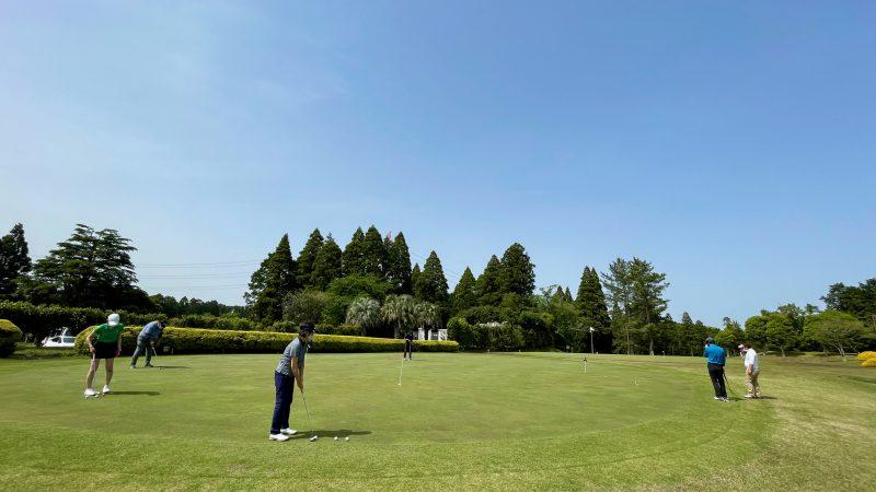GEN-TENコースレッスン東千葉CCパッティング練習