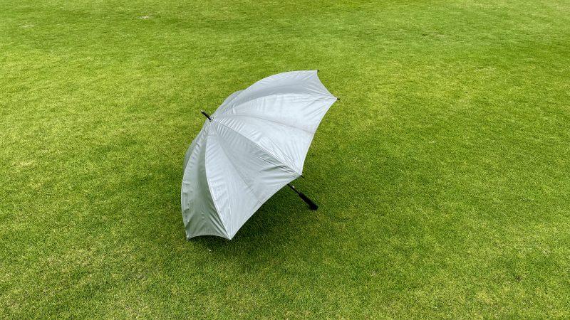 GEN-TENコースレッスン雨ゴルフ傘